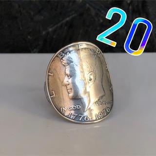 アメリカコインリング 50セント 20号(リング(指輪))