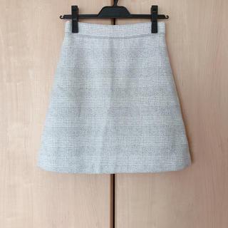 PROPORTION BODY DRESSING - プロポーション♡グレンチェックビーバーミニスカート