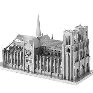 3Dメタルパズル パリ ノートルダム大聖堂