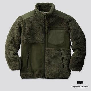 UNIQLO - engineered garments フリースコンビネーションジャケット