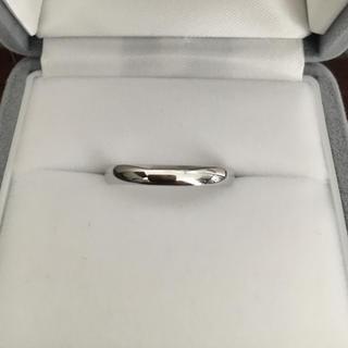 ヴァンクリーフアンドアーペル(Van Cleef & Arpels)のヴァンクリーフ&アーペル タンドルモン リング Pt950 3mm 4.1g(リング(指輪))