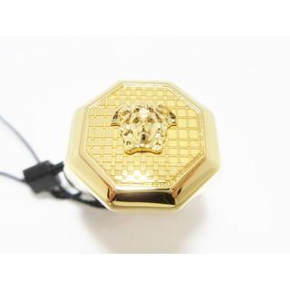 ヴェルサーチ(VERSACE)の新品メンズVERSACEメデューサ印台リング指輪(リング(指輪))