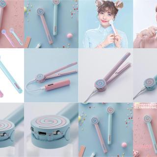 パナソニック(Panasonic)の新製品 ミニストレートアイロン USB式 Candy シースルーバング 前髪(ヘアアイロン)