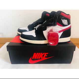 NIKE - Air Jordan 1 Retro High Black Gym Red