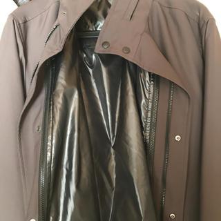 ユニクロ(UNIQLO)の新品ユニクロ紺のコート(トレンチコート)