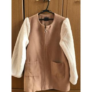 アベイル(Avail)のアウター 羽織もの 上着 ファー ブラウン(毛皮/ファーコート)