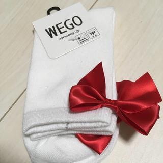 ウィゴー(WEGO)のWEGO リボンソックス(ソックス)