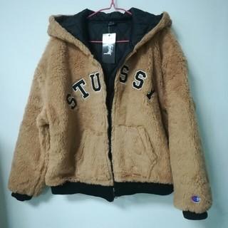 STUSSY - ステューシー&チャンピンのコラボブルゾン