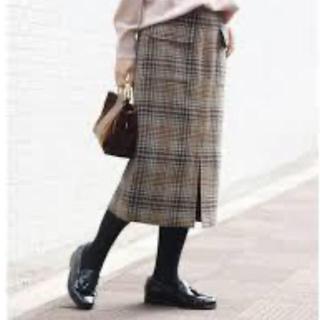 Spick and Span - Wポケットチェックタイトスカート