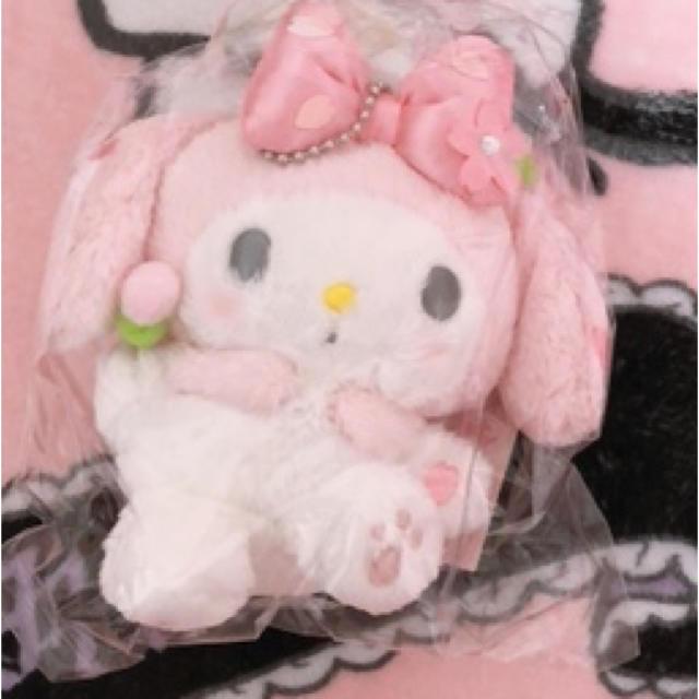 サンリオ(サンリオ)のマイメロ マスコット♡ エンタメ/ホビーのおもちゃ/ぬいぐるみ(キャラクターグッズ)の商品写真