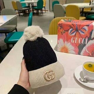 グッチ(Gucci)の新品 綺麗 ☆ニット 帽子 美品 防寒(帽子)