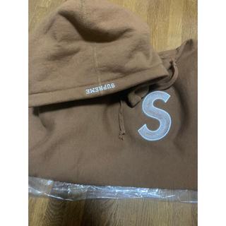 Supreme - supreme S logo ブラウン M size