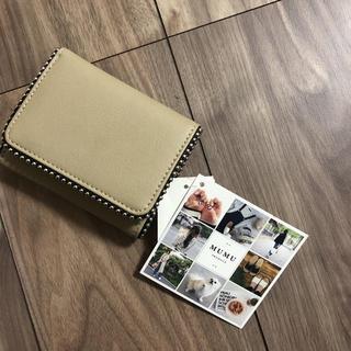 しまむら - MUMUプロデュース  三つ折り財布完売品