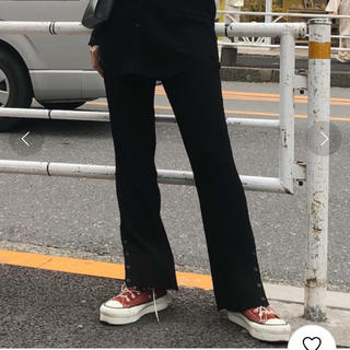 Ameri VINTAGE - アメリヴィンテージ  SNAP BUTTON KNIT PANTS