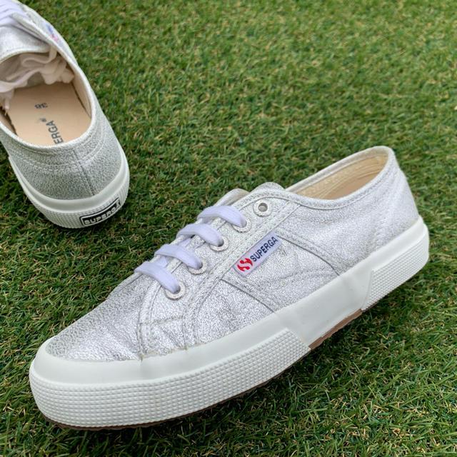 SUPERGA(スペルガ)の美品38 SUPERGA スペルガ 2750 LAMEW C584 レディースの靴/シューズ(スニーカー)の商品写真