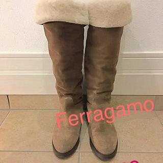 フェラガモ(Ferragamo)の♡Ferragamo ムートンブーツ♡36 1/2 (ブーツ)