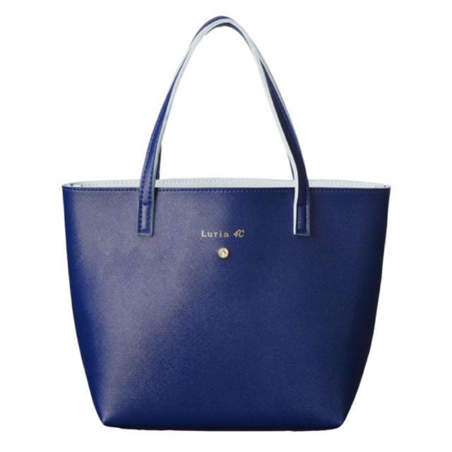 4℃(ヨンドシー)のLuria4℃ ミニバッグ クリスタルビジュー付きトートバッグ 最安値 値下げ レディースのバッグ(ハンドバッグ)の商品写真