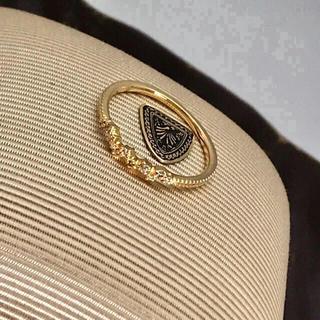 アガット(agete)のアガット ダイヤリング  K18(リング(指輪))