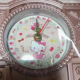 ハローキティ(ハローキティ)の時計 キティちゃん ハローキティ(置時計)