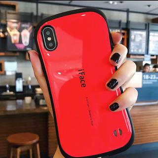 レッド 箱付き iFace iPhoneX/XS用 First Class