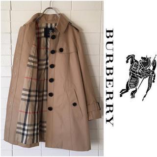 BURBERRY - 美品 バーバリーロンドン 裏ノバチェック トレンチコート 38 ベージュ