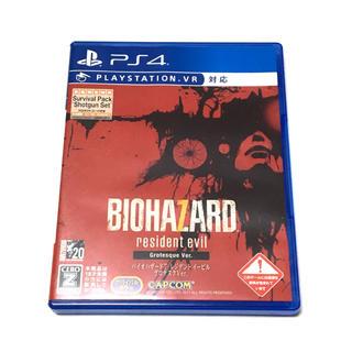 PlayStation4 - PS4 バイオハザード7 レジデントイービル グロテスクバージョン