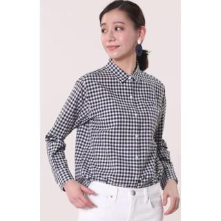 プラステ(PLST)の美品♡コットンリネンシャツ(シャツ/ブラウス(長袖/七分))
