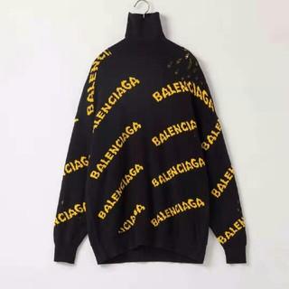 バレンシアガ(Balenciaga)のBALENCIAGA ロゴ セーター ニット(ニット/セーター)