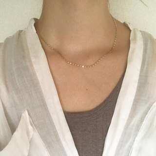 TODAYFUL - Silver925,k18_Augustine necklace