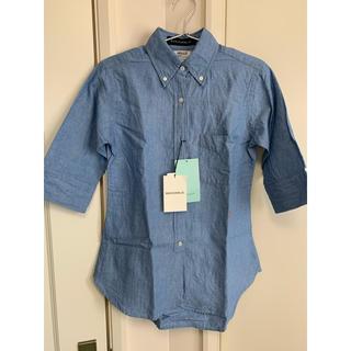 マディソンブルー(MADISONBLUE)の未使用品 マディソンブルー   シャツ A026  サイズ 01 ブルー 五分袖(シャツ/ブラウス(長袖/七分))