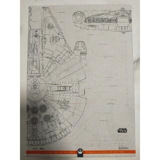 ディズニー(Disney)のキャンバスアート ミレニアムファルコン スターウォーズ 非売品(絵画/タペストリー)