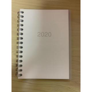 MUJI (無印良品) - 無印良品 スケジュール帳 2020