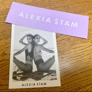 ALEXIA STAM - ALEXIASTAM 非売品ステッカー
