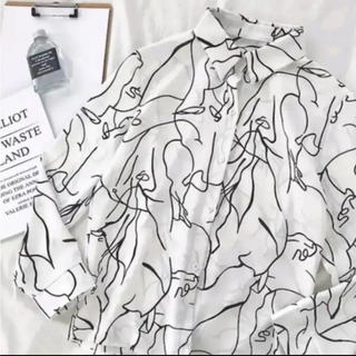 Ameri VINTAGE - ☺︎完売商品☺︎ オルチャン  シャツ