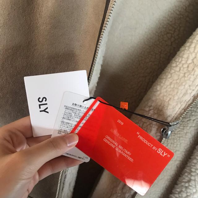 SLY(スライ)のSLY OVER SIZE B-3 レディースのジャケット/アウター(ブルゾン)の商品写真