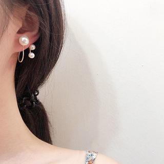 イエナスローブ(IENA SLOBE)のパールサークルピアス 同時購入割引あり☆ 韓国ファッション オルチャン(ピアス)