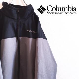 Columbia - 古着 Columbia コロンビア ナイロンジャケット フリース ワンポイント