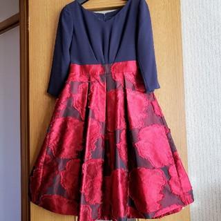 GRACE CONTINENTAL - 限定出品☆ワンピースドレス☆diagram☆グレースコンチネンタル
