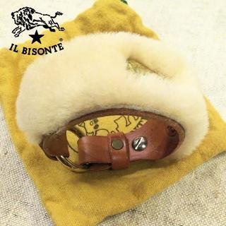 IL BISONTE - 激レア希少 40周年 IL BISONTE✨イルビゾンテ ムートン ブレスレット