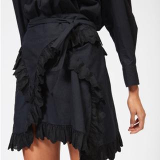 イザベルマラン(Isabel Marant)のイザベルマラン イザベルマランエトワール 巻きスカート(ミニスカート)