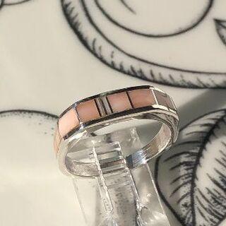 ☆『 Contemporary 』ピンクコーラル・リング(リング(指輪))