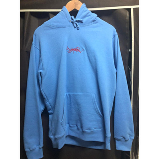 Supreme - supreme Tag Logo Hooded Sweatshirt M