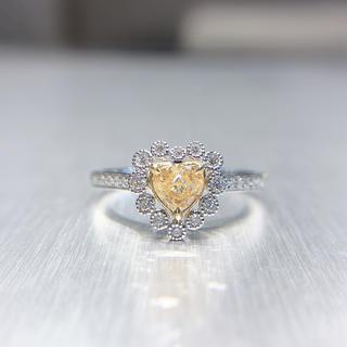 年末セールイエローダイヤモンド指輪(リング(指輪))