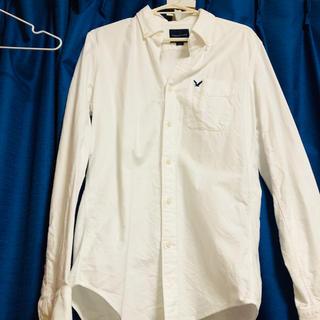 アメリカンイーグル(American Eagle)のアメリカンイーグル 白シャツ(ポロシャツ)