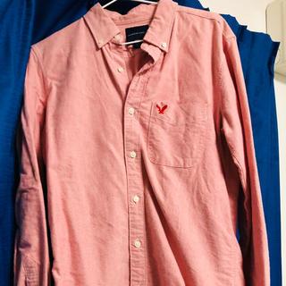 アメリカンイーグル(American Eagle)のアメリカンイーグル ピンク シャツ(シャツ)