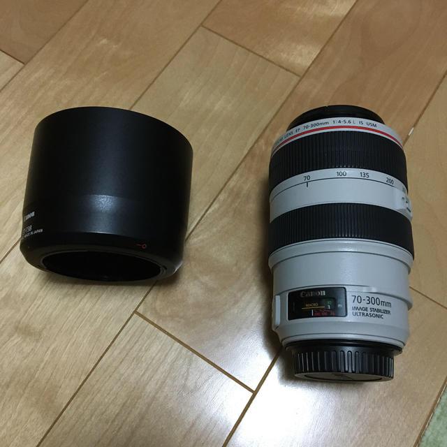 Canon(キヤノン)のEF70-300mm f4-5.6L IS USM スマホ/家電/カメラのカメラ(レンズ(ズーム))の商品写真