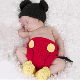Disney - ミッキー 新生児コスチューム