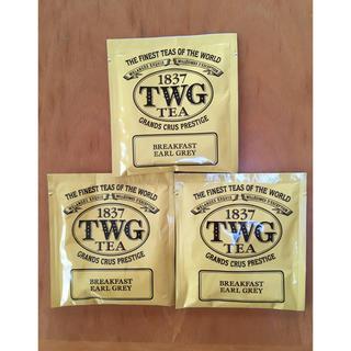 TWG紅茶ブレックファーストアールグレーティー3パック(茶)