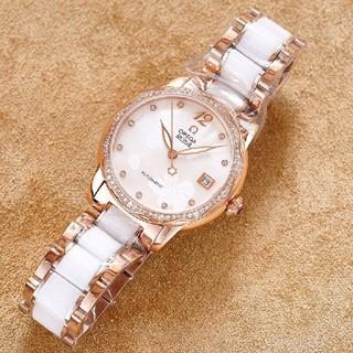 OMEGA - 大人気美品オメガ レディース機械式時計