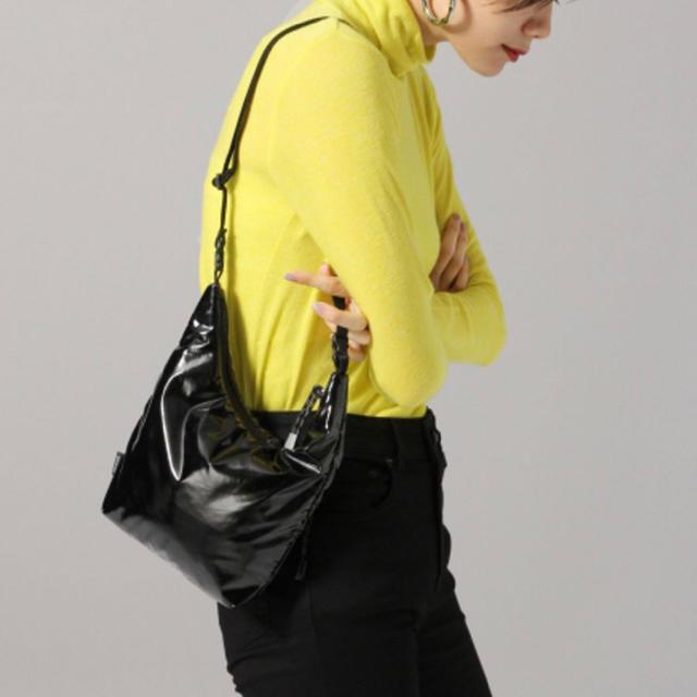 JEANASIS(ジーナシス)の新品 JEANASIS サコッシュ 黒 バッグ メンズ ブランド 秋冬 韓国 茶 レディースのバッグ(ショルダーバッグ)の商品写真